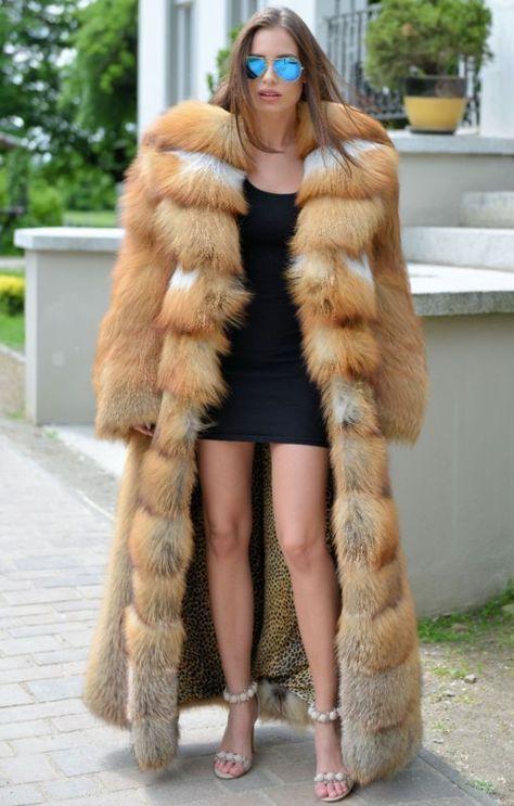 Nouveau 2017 or longues FOX fourrure gilet Clas de sable Mink Chinchilla Manteau Argent