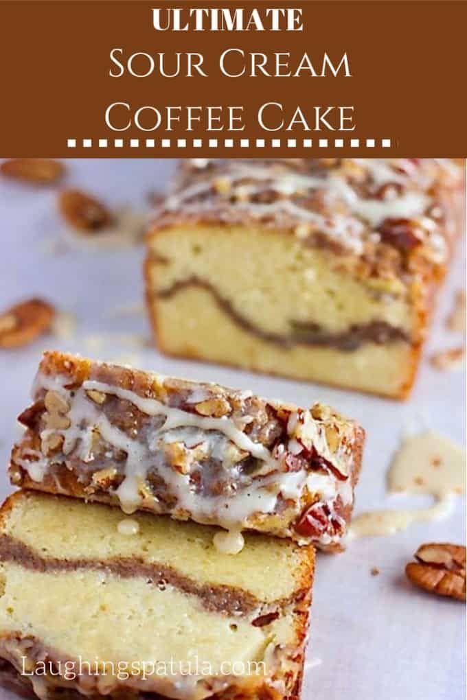 Ultimate Sour Cream Coffee Cake Recipe Sour Cream Coffee Cake Coffee Cake Recipes Best Coffee Cake Recipe