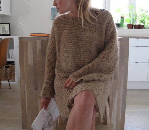 DIY hjemmestrikket genser (Maria Skappel)