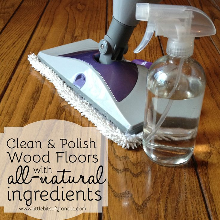 Want to clean your wood floors without the scary chemicals? Use these simple recipes to clean and polish your wood floors using all-natural ingredients.