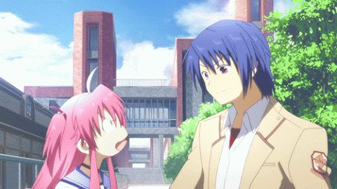 No matter what, I still ship these two: Hinata x Yui <3 ~                                                                    Anime : Angel Beats