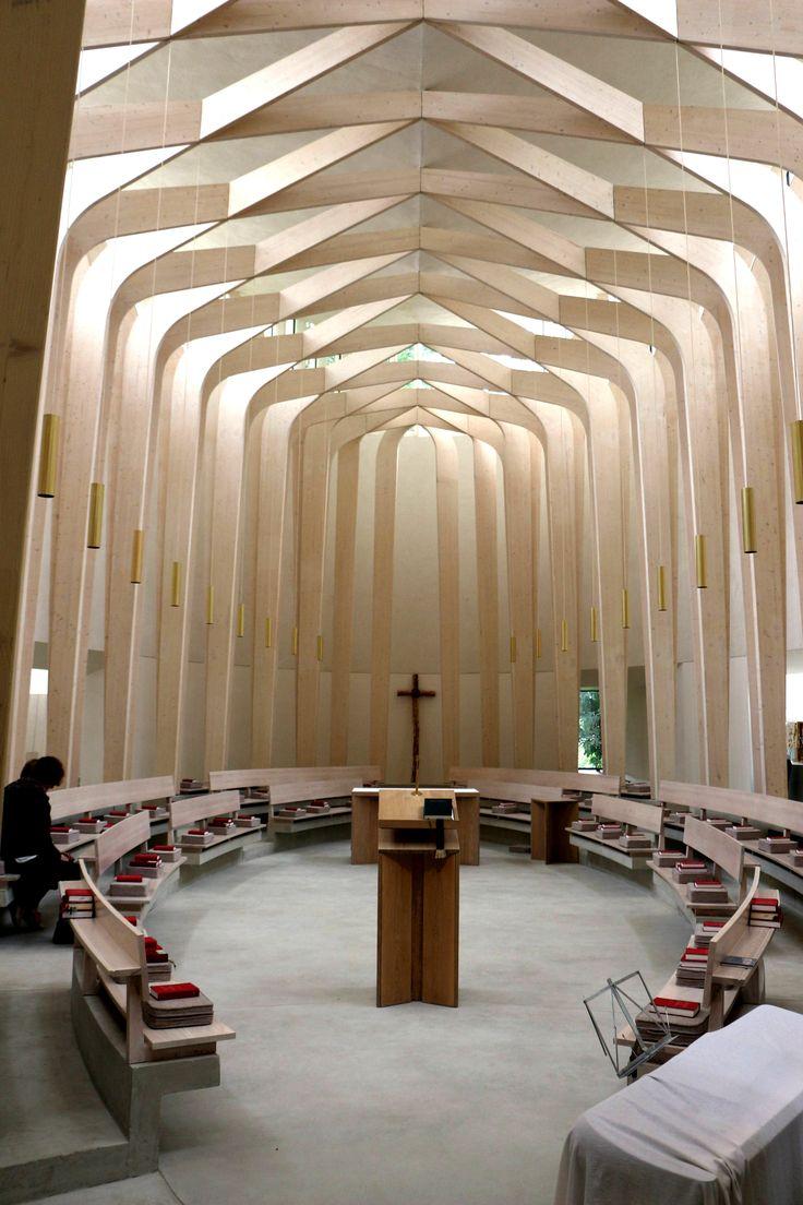 Bishop Edward King Chapel, Oxford Niall McLaughlin Architects