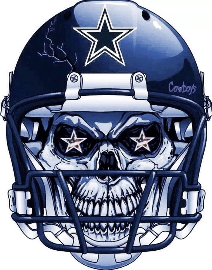 Dallas Cowboys Skull