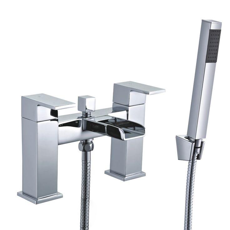 Mayfair Constantine Double Lever Bridge Bath Shower Mixer Tap