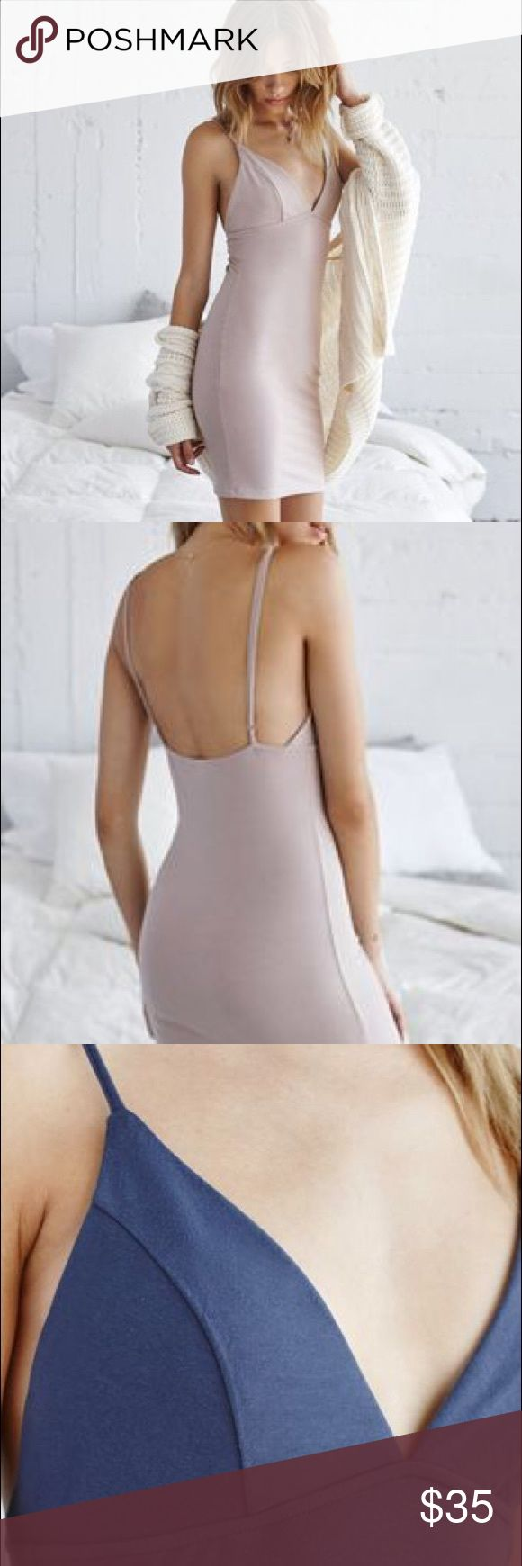 Nude Bodycon Dress Essentials experts Me To We create a curve-hugging look that's perfect for all-day lounging. The Cupped Knit Bodycon Dress comes with adjustable spaghetti straps, a form fit and cupped design. Layer this bodycon dress with a chunky cardigan and bare feet for relaxed style PacSun Dresses Mini