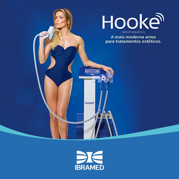 Aparelho para flacidez corporal e facial. Hooke ibramed - ele produz um campo eletromagnético de Alta Frequência que aquece os tecidos de forma rápida, intensa e controlada, estimulando reações fisiológicas que resultam em Rejuvenescimento e Remodelagem Corporal.