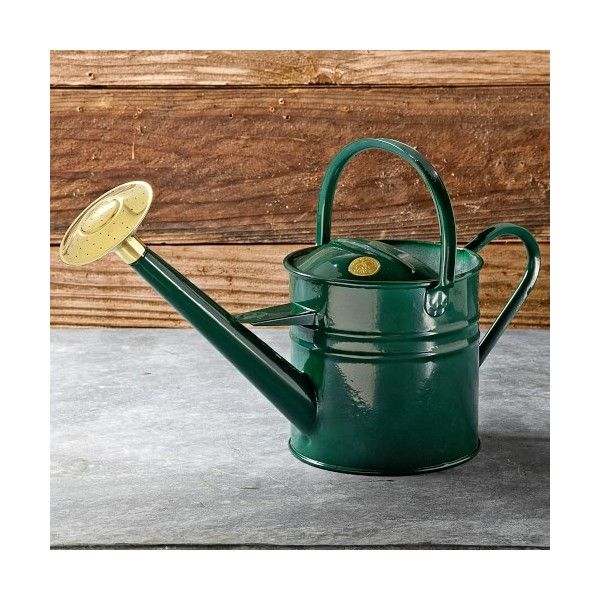 Williams-Sonoma Haws Traditional Watering Can ($70) ❤ liked on Polyvore featuring home, outdoors and garden tools