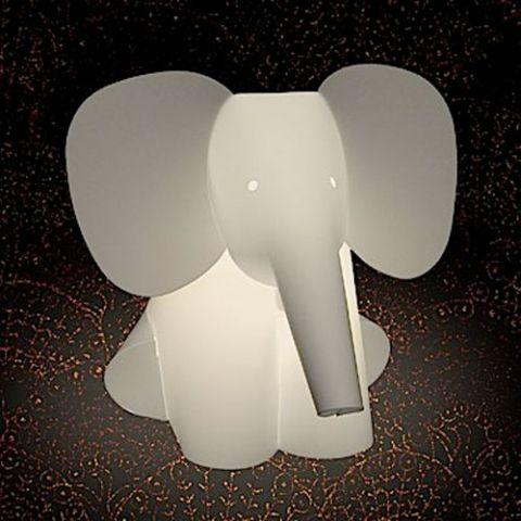 DESIGNDELICATESSEN - ZooLight - Elefant - børnelampe