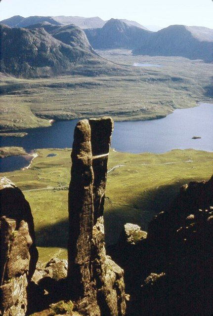 The Lobster Claw on Stac Pollaidh, Northwest Highlands of Scotland.
