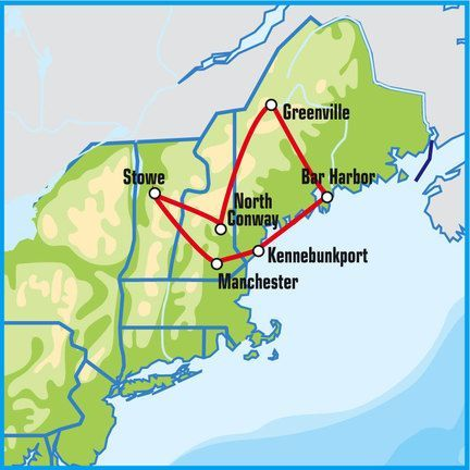 New Hampshire Motorcycle Tour | Self-Drive Motorcycle Tour