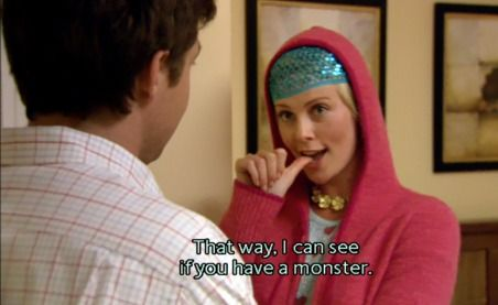 Charlize Theron as Rita in Arrested Development. Don't let the British accent fool you. #slowbutsexy