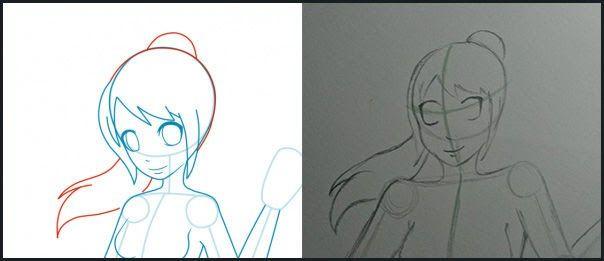 20 Gambar Keren Yang Bisa Digambar Tutorial Cara Mudah Menggambar Anime Bagi Pemula From Jalantikus Com Keren Seniman Ini Bisa Sketsa Cara Menggambar Kartun