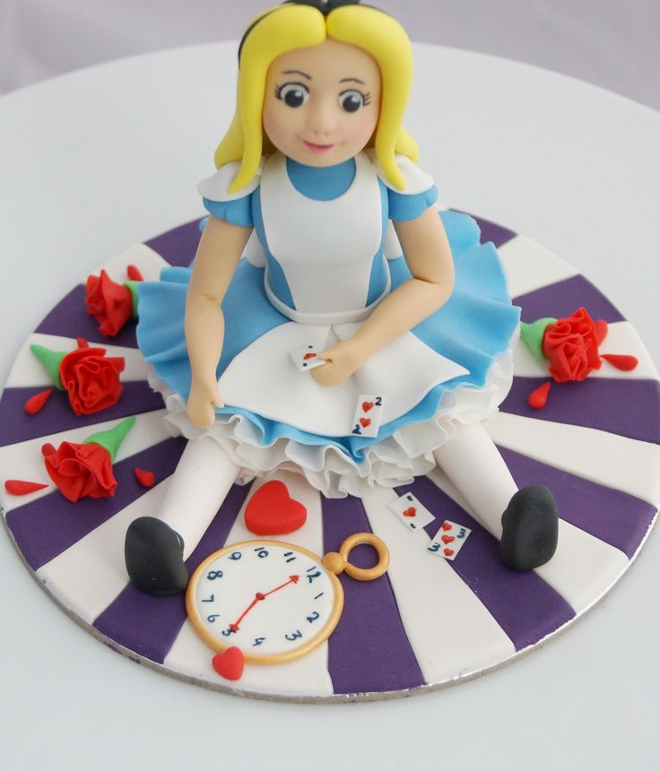 Alice Cake Topper
