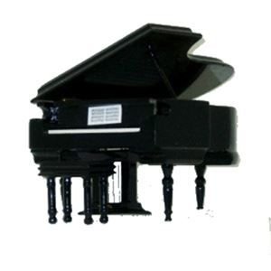 Grand Piano Music Box - can be used as a music theme party table decoration then taken home as a keepsake. http://www.awesomeevent.com/Grand-Piano-Music-Box-P1151.aspx