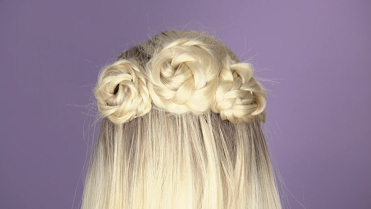 Flower Crown Braid: You don't need any flowers for this gorgeous braided style.