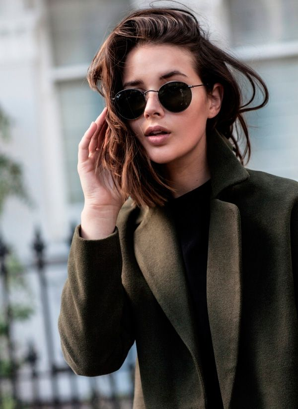 round sunglasses | @andwhatelse