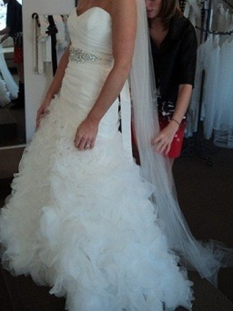 47 best wedding dresses images on Pinterest | Short wedding gowns ...