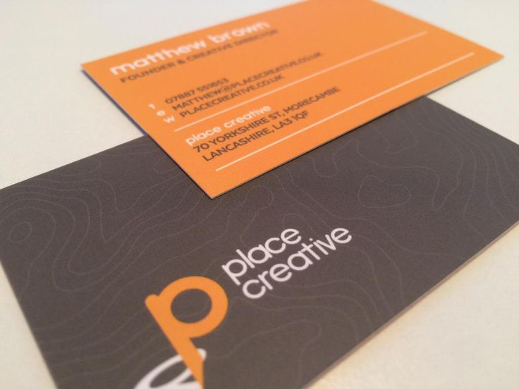 Our new business cards have just arrived. Thanks to @thedesignattic