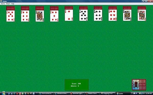 how to win at spider solitaire