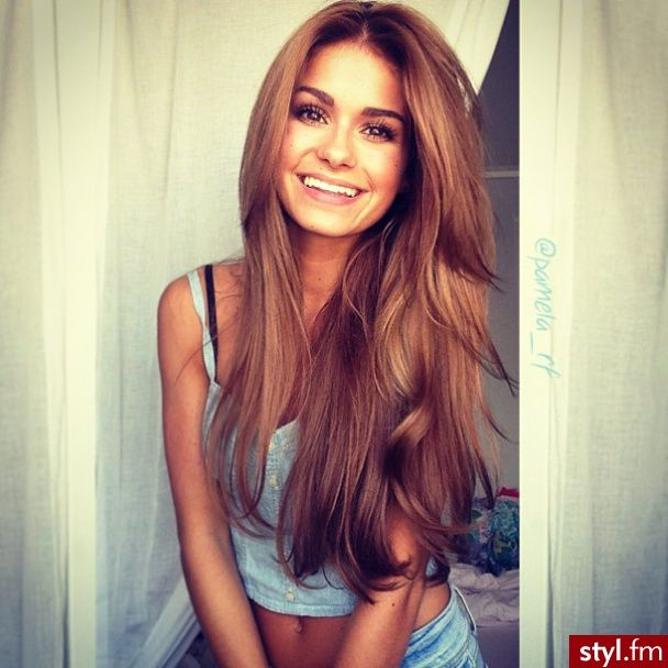 Love this Light Auburn hair Get this look and grow your hair longer, faster, fuller with Hair La Vie