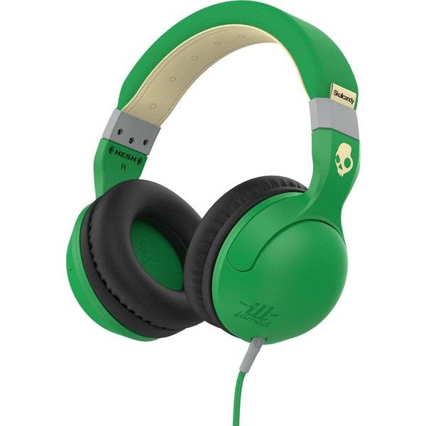 Skullcandy Hesh 2.0 Headphones with Mic ($60) ❤ liked on Polyvore featuring accessories, tech accessories, skullcandy headphones and skullcandy