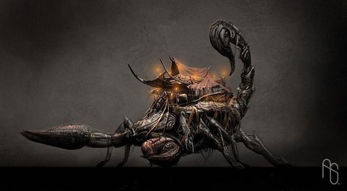escorpion furia de titanes - Поиск в Google