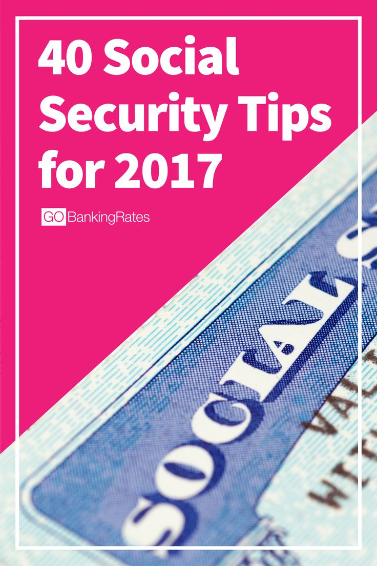 Are you maximizing your social security benefits this year? Click through for social security tips for 2017.