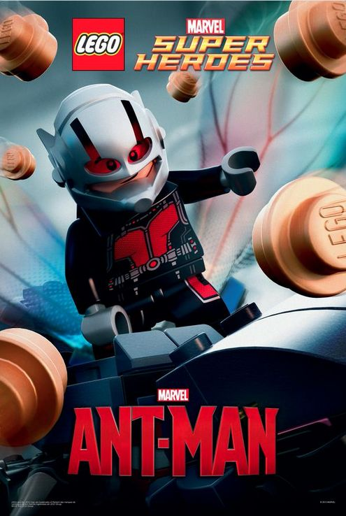 Celebrating LEGO Ant-Man #Marvel #AntMan #LEGO