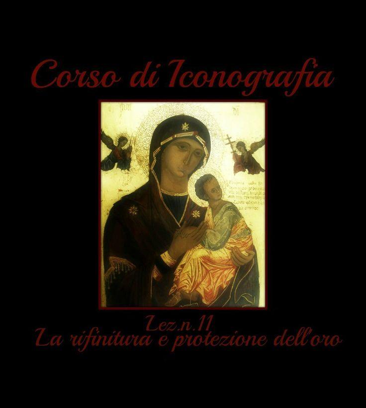 Corso di Iconografia Lez.n.11 (la rifinitura e la protezione dell'oro)-A...