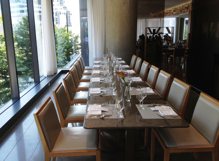 Intimate dinners for up to 35 guests in Oru's Private Dining Room.
