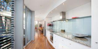Granite kitchen, Smeg appliances