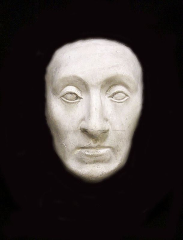 Queen Elizabeth I death mask.