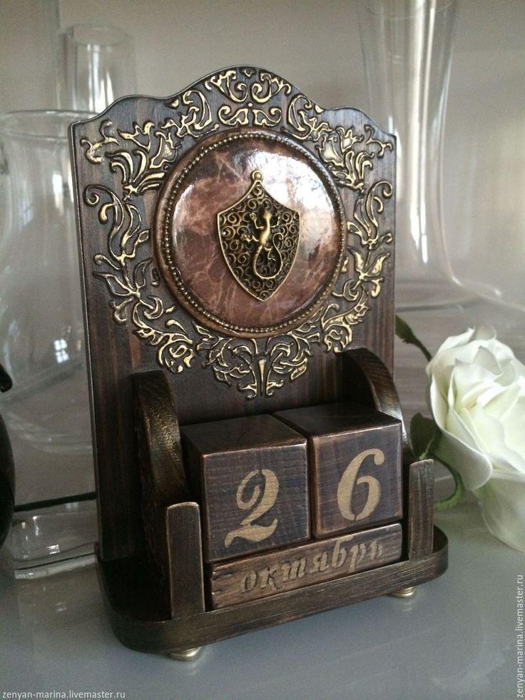 Купить Вечный календарь Рыцарский. - вечный календарь купить, мужской подарок, подарок мужчине