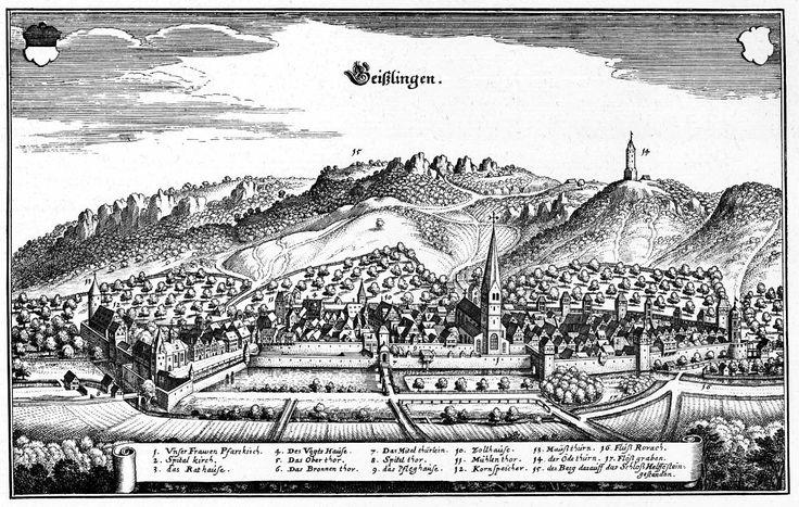De Merian Sueviae 107 - Geislingen an der Steige – Wikipedia