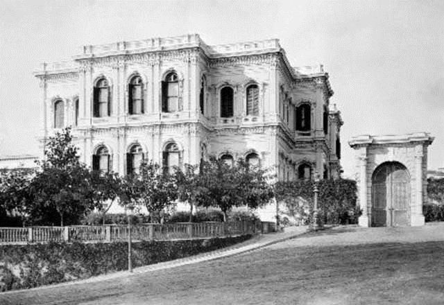 Yıldız Sarayı Büyük Mabeyn Dairesi Beşiktaş