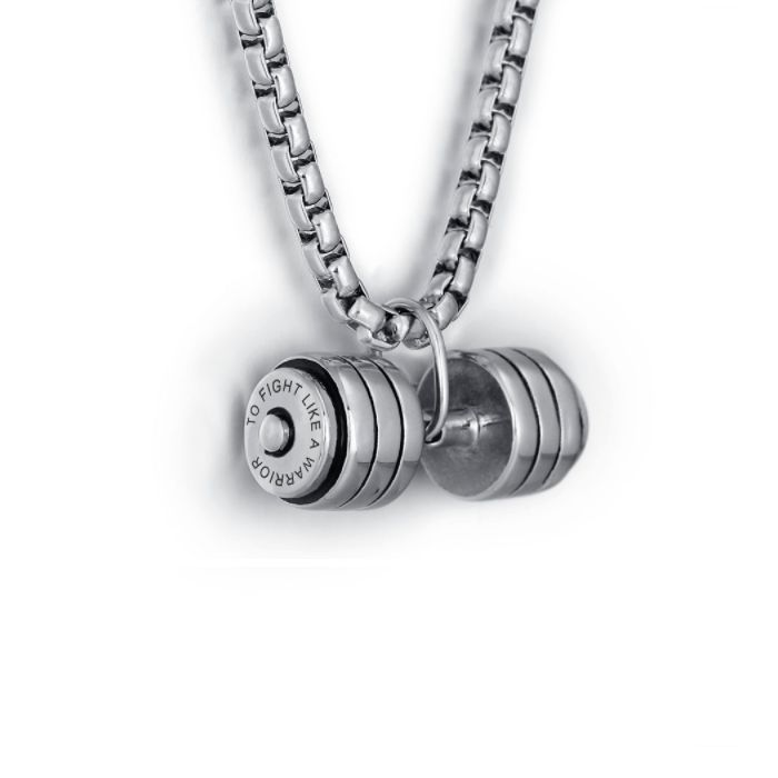 Discount Voucher Special!! >>> ENTER CODE: SUMMER AT CHECKOUT & SAVE FOR EACH AND EVERY ITEM IN OUR SPECIALS CATALOGUE! .... Specials items may be time limited so get yours quick! ....  Weight Lifter Personalised Necklace