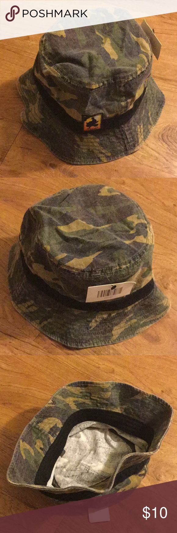 Camo Bucket Hat Brand New Camo Bucket Hat Brand New Accessories Hats