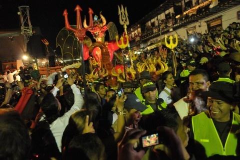 Llegada del diablo y cuadrillas mayores, lo mejor del Carnaval