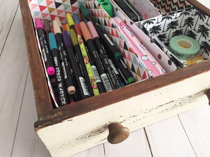 Make Up Brush Organizer – Drawer Inserts – Magazine Holder I'm a sucker fo…