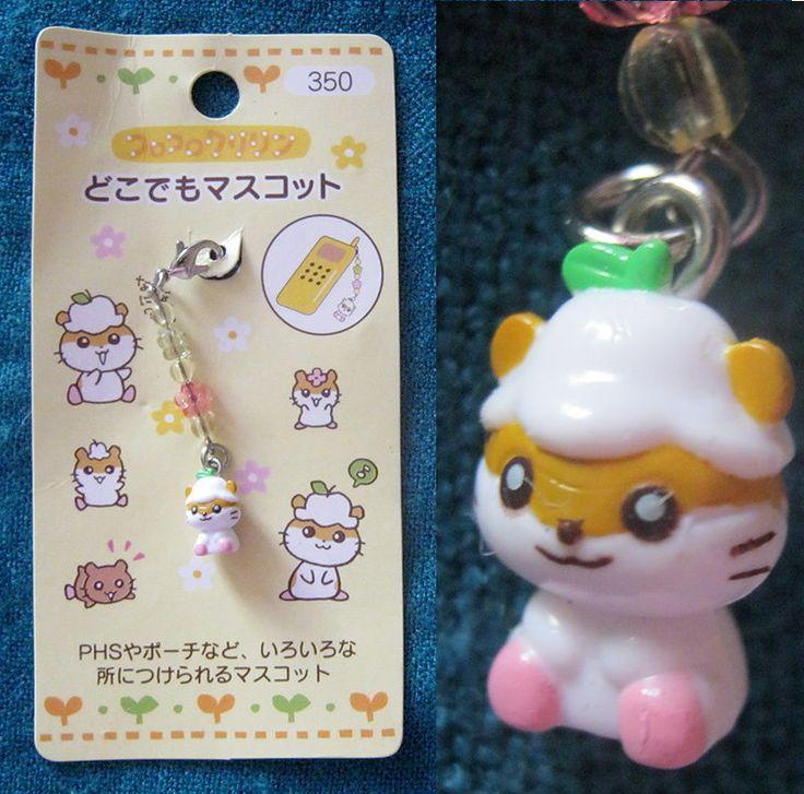 Pretty Mini Hamster Mobile Phone Strap | eBay