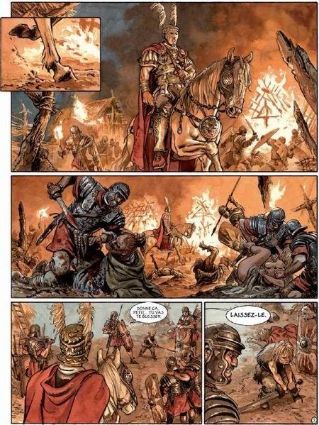 L'ambition d'Enrico Marini - Actua BD: l'actualité de la bande dessinée