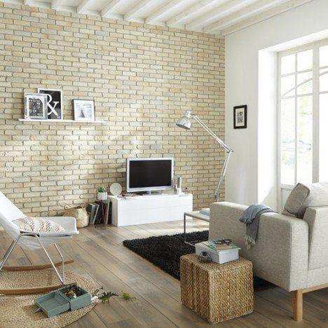 Mais de 1000 ideias sobre parement mur exterieur no for Mur interieur en pierre leroy merlin