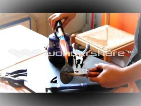 VIDEO bracciale cucchiaio - YouTube