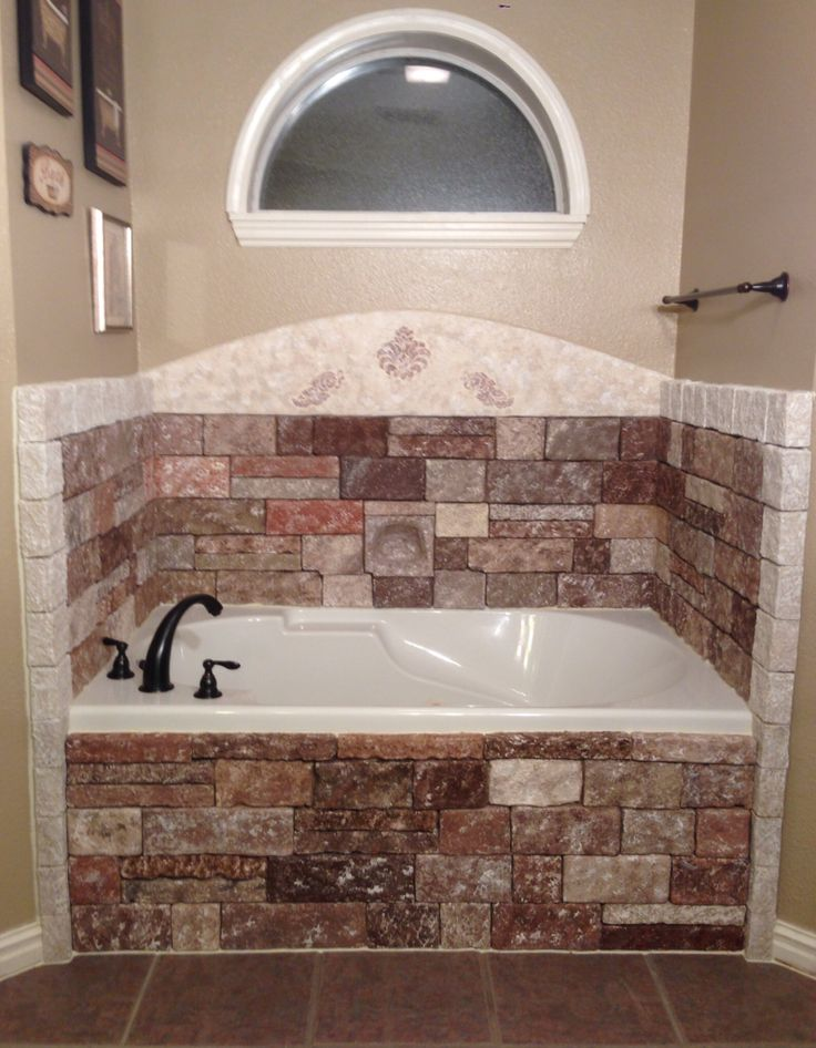 8 best Bathtub Backsplash remodel images on Pinterest | Backsplash ...