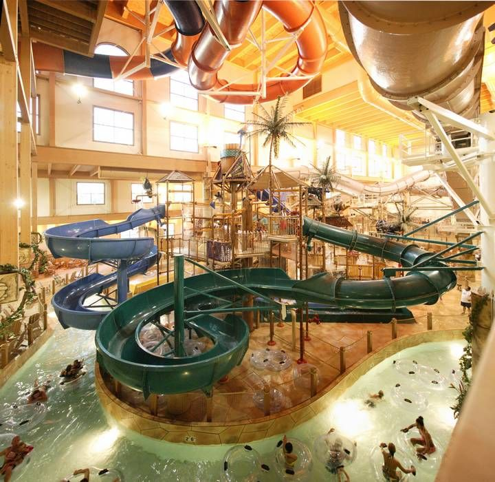 Chula Vista Resort Wisconsin Dells Wi United States: Lost Rios Indoor Waterpark