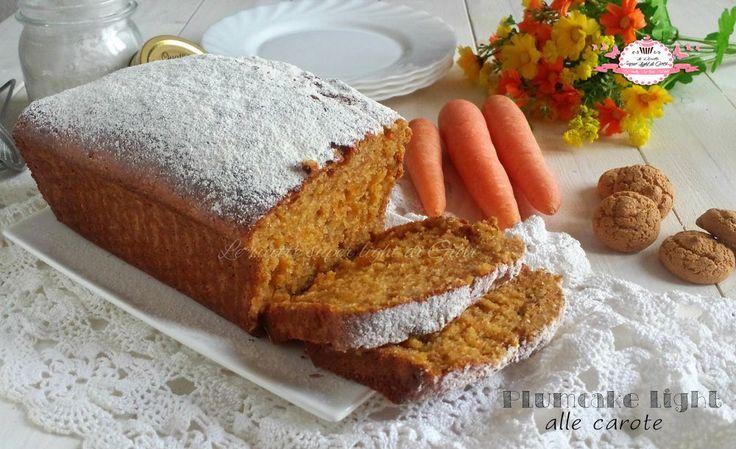 Plumcake light con carote e amaretti (140 calorie a fetta)   Le ricette super light di Giovi