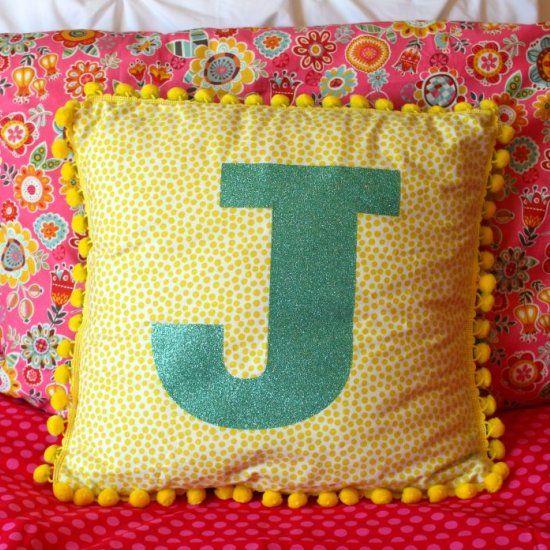 Best 25+ Initial pillow ideas only on Pinterest