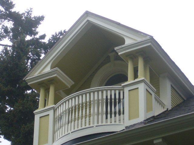 Victorian Homes Balcony Second Floor Balcony To The