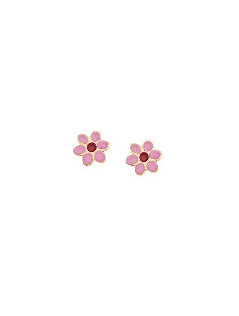 Παιδικά Σκουλαρίκια από Χρυσό 9Κ με Σμάλτο Αναφορά 013663 Παιδικά σκουλαρίκια (μαργαρίτες) από Χρυσό 9Κ σε κίτρινο χρώμα με καρφάκι.Τα στοιχεία είναι στολισμένα με σμάλτο σε χρώμα κόκκινο και ροζ.