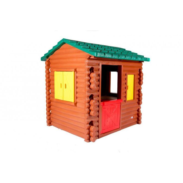 MiPetiteLife.es - Cabaña de Leños - Little Tikes. La cabaña de leños es tan sólida como bonita. Ideal para las niñas y los niños que se divierte con juegos creativos e imaginativos. Esta casa de juegos imita a una gran casa de madera y con detalles realistas. www.MiPetiteLife.es